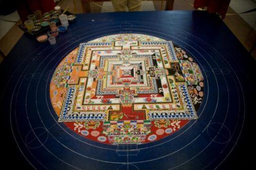 Sand Mandala view